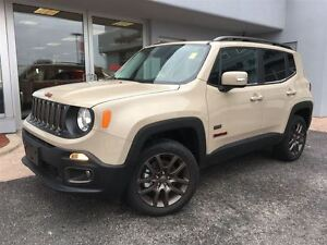 2016 Jeep Renegade 75TH EDITION ALMOST NEW