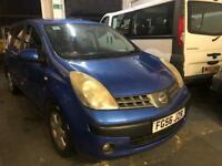Nissan Note 2006 5 Doors Hatchback 1.4 Mot and Tax Excellent Runner