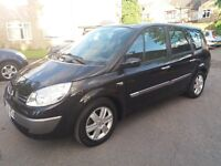 1.6 RENAULT GRAND SCENIC 2006 YEAR 48000 MILES HISTORY MOT TILL 17/05/18 HPI CLEAR 3 MONTHS WARRANTY