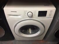 SAMSUNG 8KG ECO BUBBLE WASHING MACHINE WHITE RECONDITIONED
