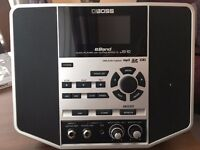 Boss E-band JS-10 Audio Player with Guitar effects