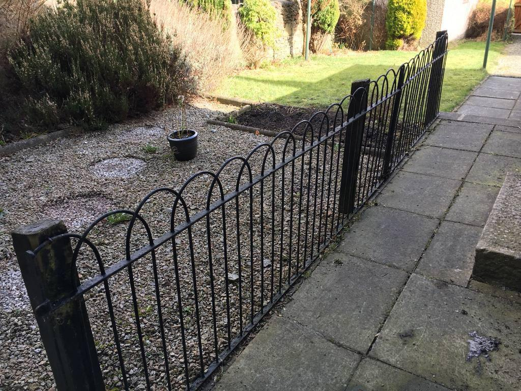 Metal/wire garden fence | in Aberdeen | Gumtree