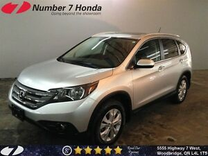 2014 Honda CR-V Touring| Leather, Navi, All-Wheel Drive!