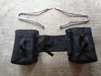 Soft panniers purchased for Triumph Thunderbird 900 but suitable for other bikes