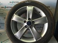 FORD GALAXY MK3 S-MAX 2007-2014 ALLOY WHEEL R17 WITH 6.9 MM TYRE BD56-3