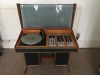 Decca Sound Compact 3 Record Player Turntable