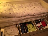 Hemnes Ikea Day Bed-excellent condition, comes with 2 mattresses