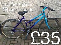 Mountain Bikes £25 - £65 mountain bike cycle