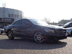 Mercedes-Benz CLA CLA220 CDI AMG SPORT (black) 2014-04-30