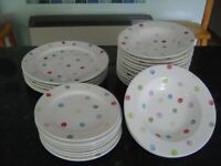 JOB LOT OF DISHES BY TESCO