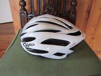 White Giro Boreas Push Bike Helmet Size L/XL