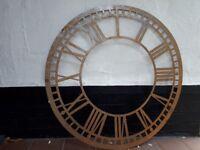 Wall Art Steel Clockface for Inside or Outside