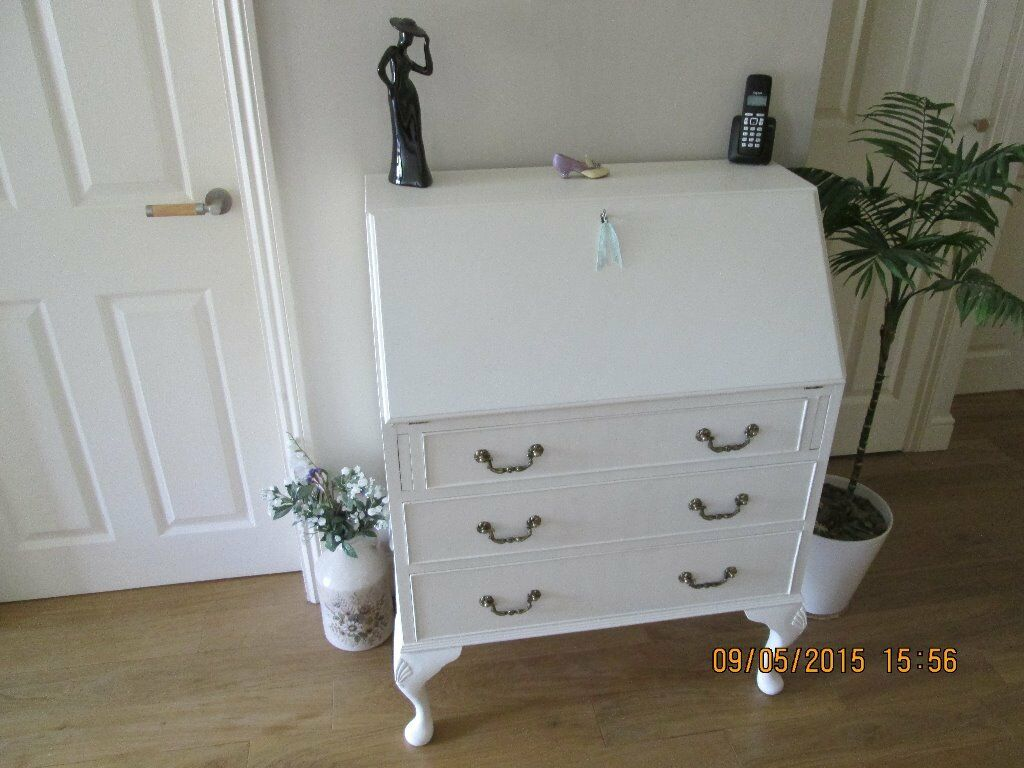 white laura ashley 6 draw drawer buy sale and trade ads. Black Bedroom Furniture Sets. Home Design Ideas