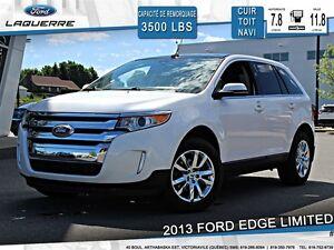 2013 Ford Edge **LIMITED*AWD*CUIR*TOIT* NAVI*CAMERA*A/C**