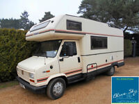 FRANKIA 6 BERTH MOTORHOME*TURBO DIESEL*POWER STEERING
