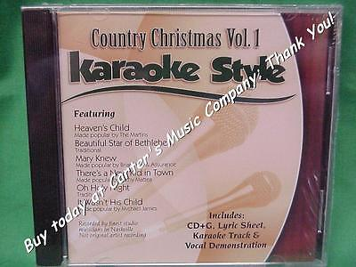 Country Christmas  Volume #1  Christian  Daywind  Karaoke Style  CD+G  Karaoke ()