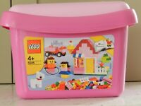LEGO Pink Brick Box Set (5585) with instructions PLUS extras