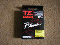 Brother TZ tape P-Touch Laminated TZ-631