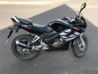 Honda CBR 125cc - Black W Reg 2005