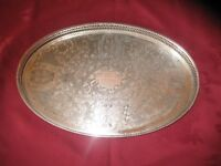 Viners Silver Plated Salver