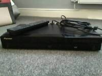 Pioneer blu ray player and remote control