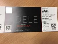 Adele Concert Tickets - Wednesday 28th June, Wembley Stadium x 2