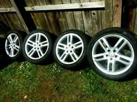 18 inch 5x112 genuine Audi A6 alloys wheels