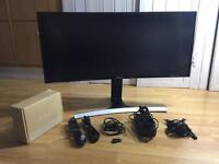 """Samsung 34"""" SE790 Curved WQHD Ultrawide Monitor LIKE NEW"""