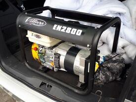 Brand new petrol generator