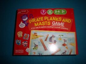 Pirates Planks & Masts Snakes & Ladders Game IP1