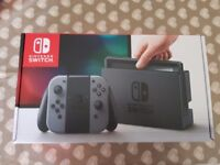 Nintendo Switch with 2 games and case