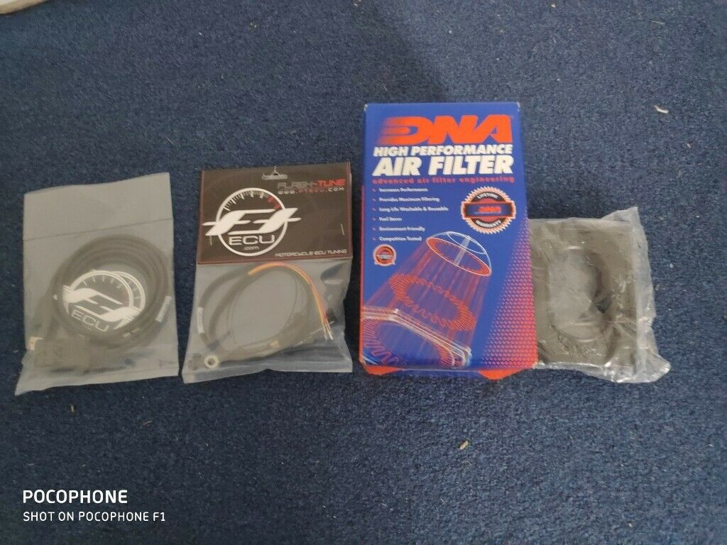 Yamaha MT-07 Flashtune Ecu flash kit + dna air filter and airbox cover, all  NEW | in Exeter, Devon | Gumtree
