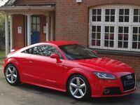 2011 (61) Audi TT 2.0 TFSI S Line 3dr - S LINE - MISANO RED - 1 OWNER - 56,000 MILES