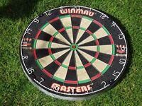 Winmau masters dartboard