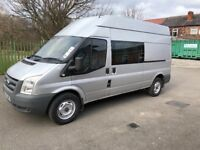 For sale ford transit crew cab