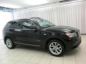 2013 BMW X3 28i x-DRIVE AWD w/ PREMIUM PACKAGE, PANORAMIC MOON