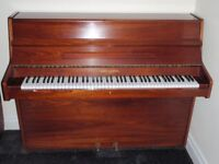 BEAUTIFUL BARRATT & ROBINSON LONDON UPRIGHT PIANO, MAHOGANY REDUCED FROM £600