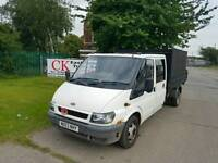 FORD TRANSIT TIPPER NO VAT FREE WARRANTY AND FINANCE AVAILABLE