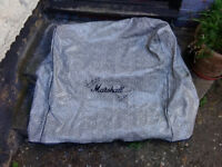 Rare Marshall Amplification cover in Snakeskin Tolex