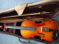 "Rumanian viola -16""back -Michael Poller -very good condition, plays beautifully"