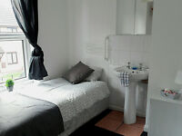 rooms from £65 pw within friendly house share
