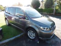 VW Touran SE TDI BLUEMOTION TECHNOLOGY (grey) 2015