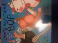 Doing the animal Bop book and cd