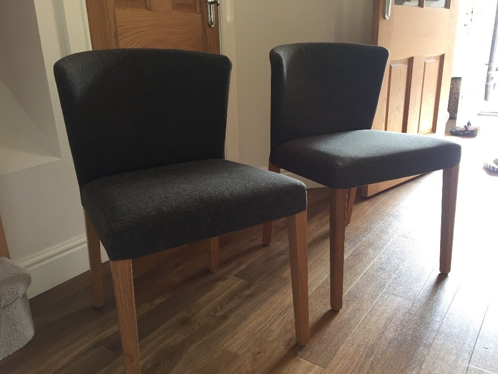 2 habitat valentina dining room chairs in edinburgh for Chaise valentina habitat