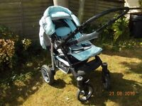 3 IN 1 TRAVEL SYSTEM PUSHCHAIR 0+ CAR SEAT CARRYCOT