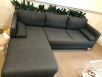 Elegant and modern couch for 4