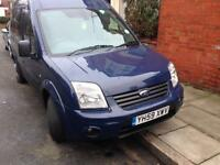 2010 59reg Ford Connect Tourneo 1.8 Tdci 8 Seater Blue Face lift