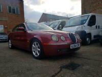 2005 54 Jaguar S Type Diesel Auto - Sat Nav - Leather Seats - 3 Month Warranty