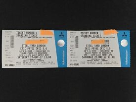 2 x Eric prydz tickets steelyard creamfields 27th May