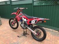 2010 crf 250 motocross